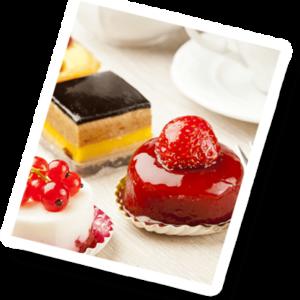 מגשי עוגות וקינוחים
