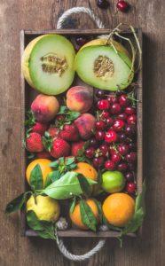 מגשי פירות ברחובות